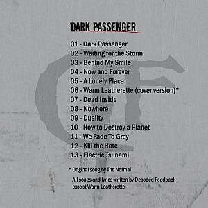 Decoded Feedback – Dark Passenger – Digital | ℗ & © 2016 Metropolis Records