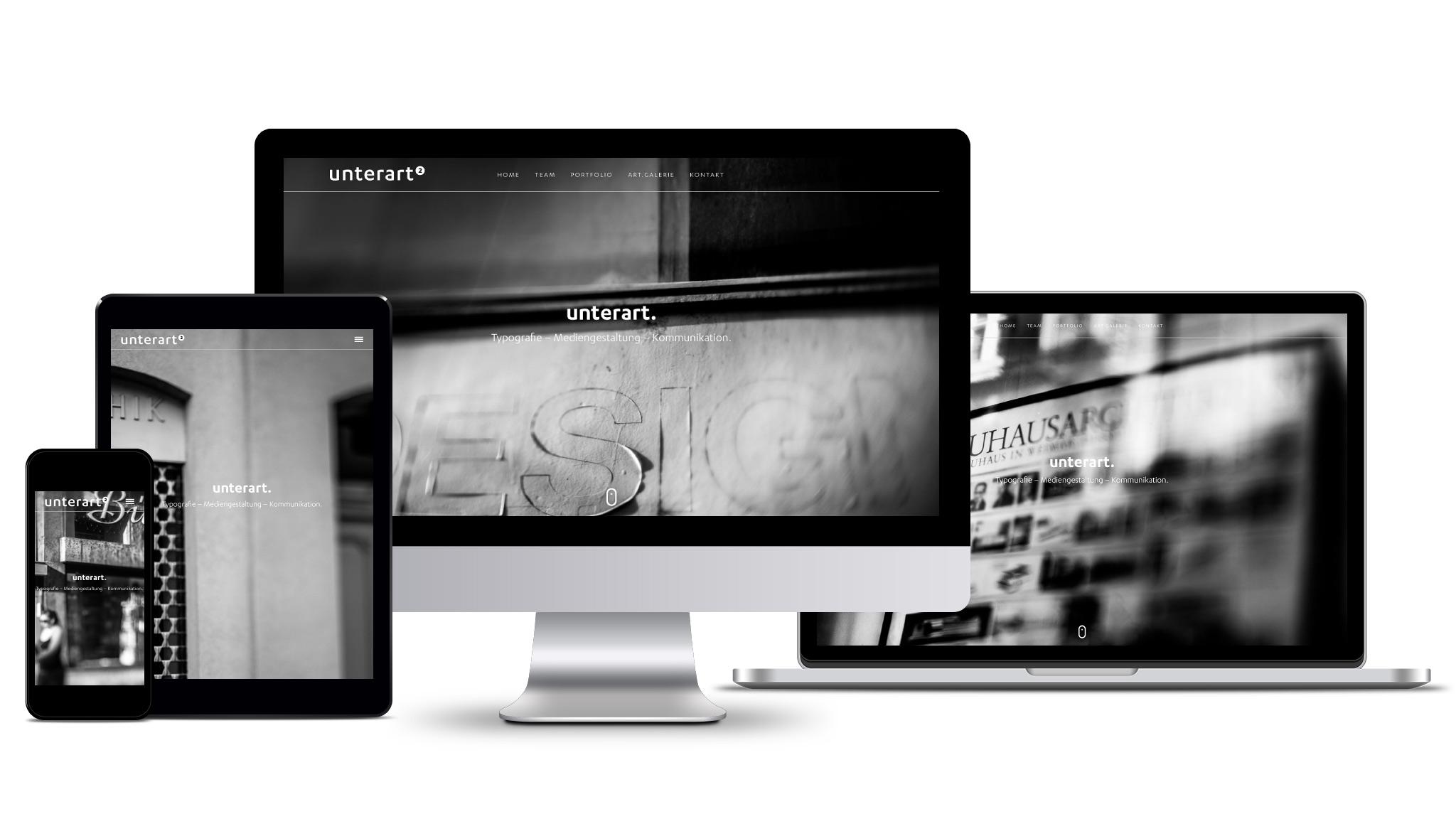 unterart.—Portfolio Website